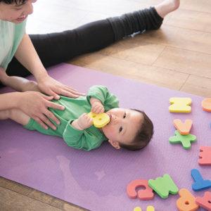 2か月~1歳未満の赤ちゃんと一緒にご参加いただけます。